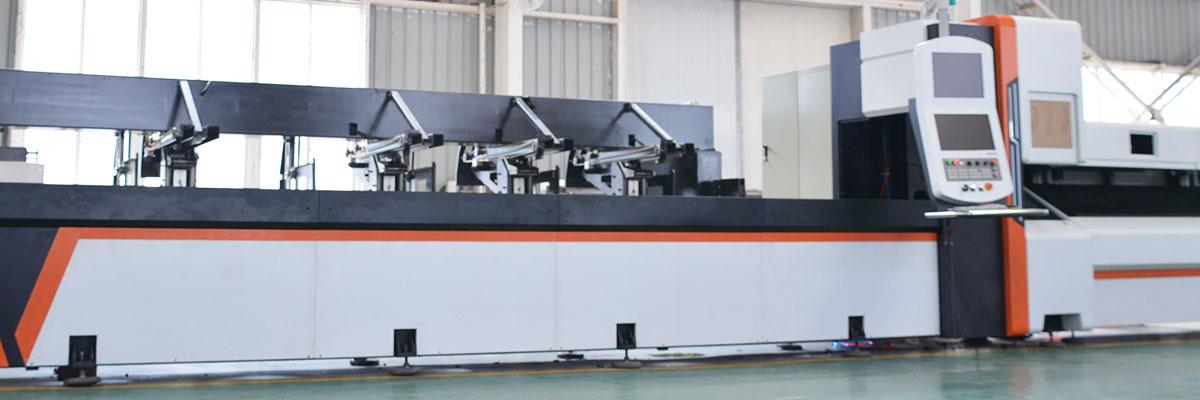 半自動光纖鐳射切管機